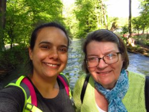 Weatherby Healthcare - locum tenens for moms - featured image of locums provider Dr. Simran Kalra visiting Germany with her mother