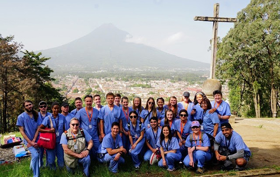 Weatherby Healthcare doctors in Guatemala