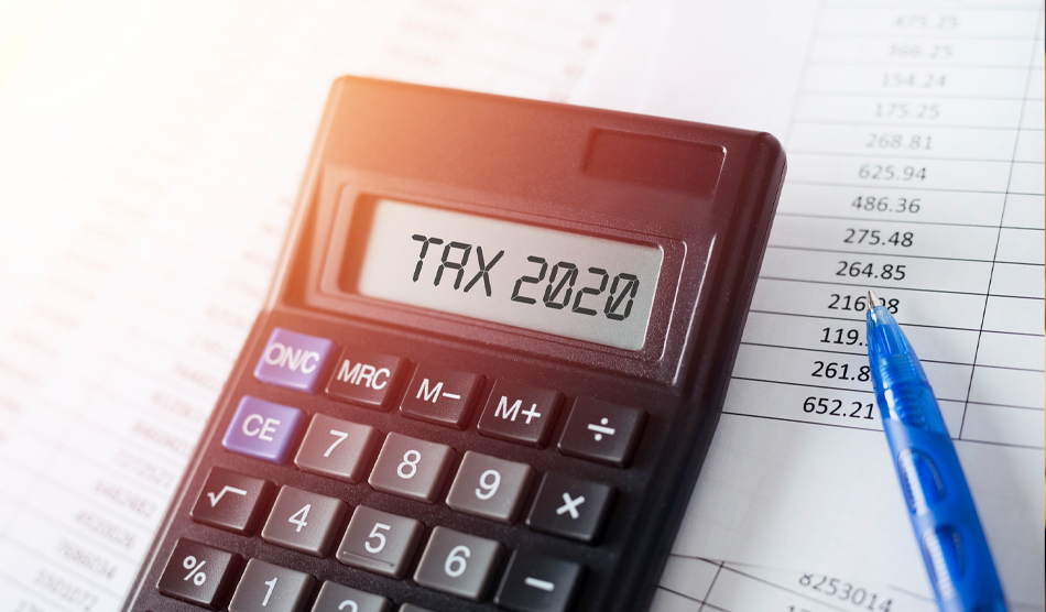 Tax form and calculator