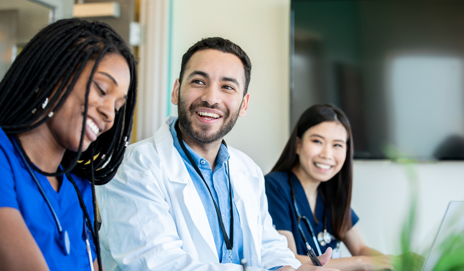 Young doctors working locum tenens out of residency