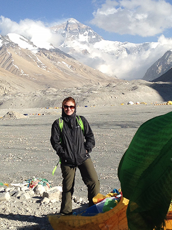 Metzger-Cihelka at Everest Base Camp