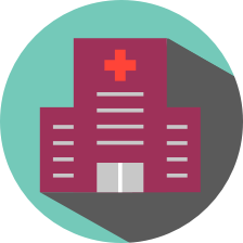 icon of a hospital